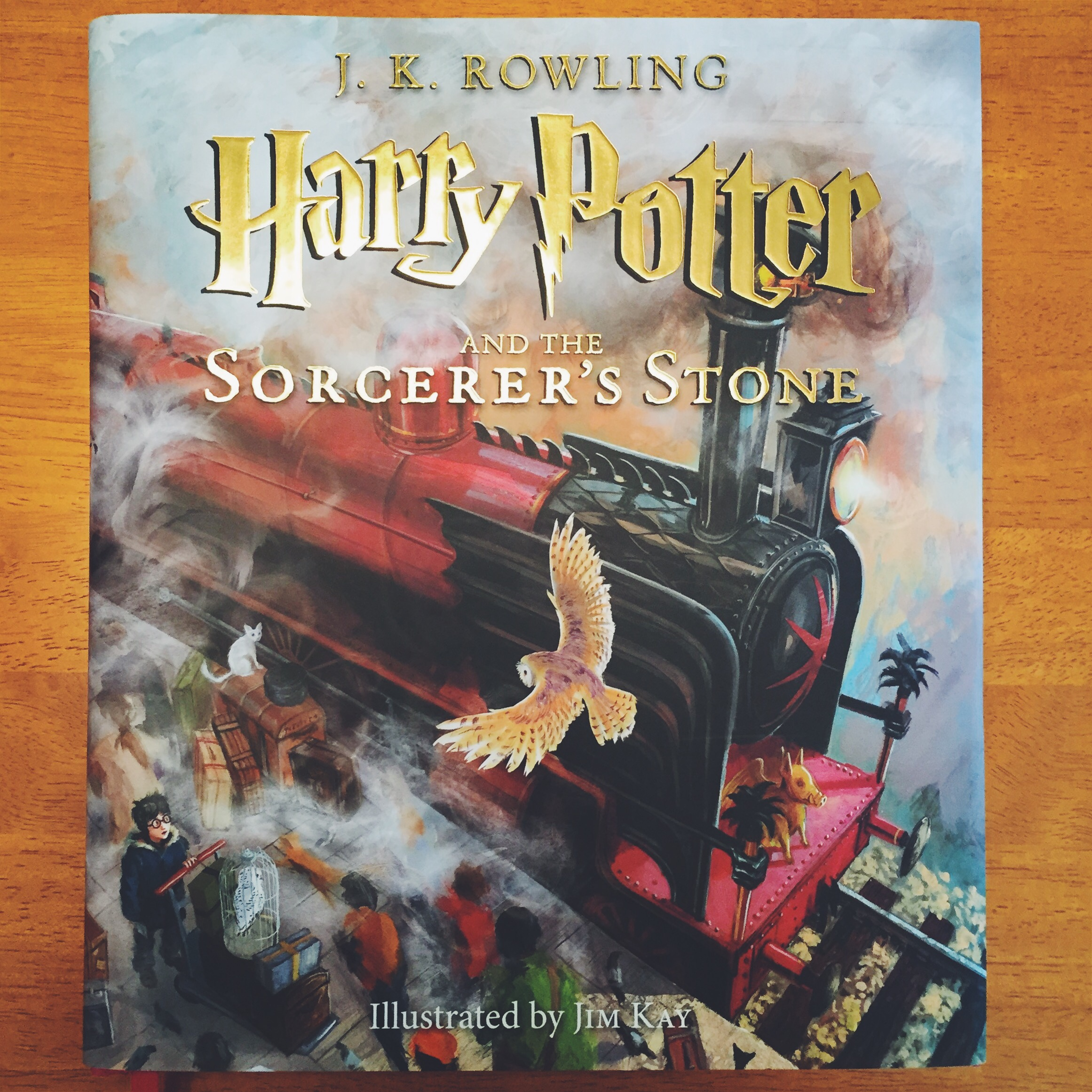 Harry Potter and the Sorcerer's Stone: Illustrated Version ...