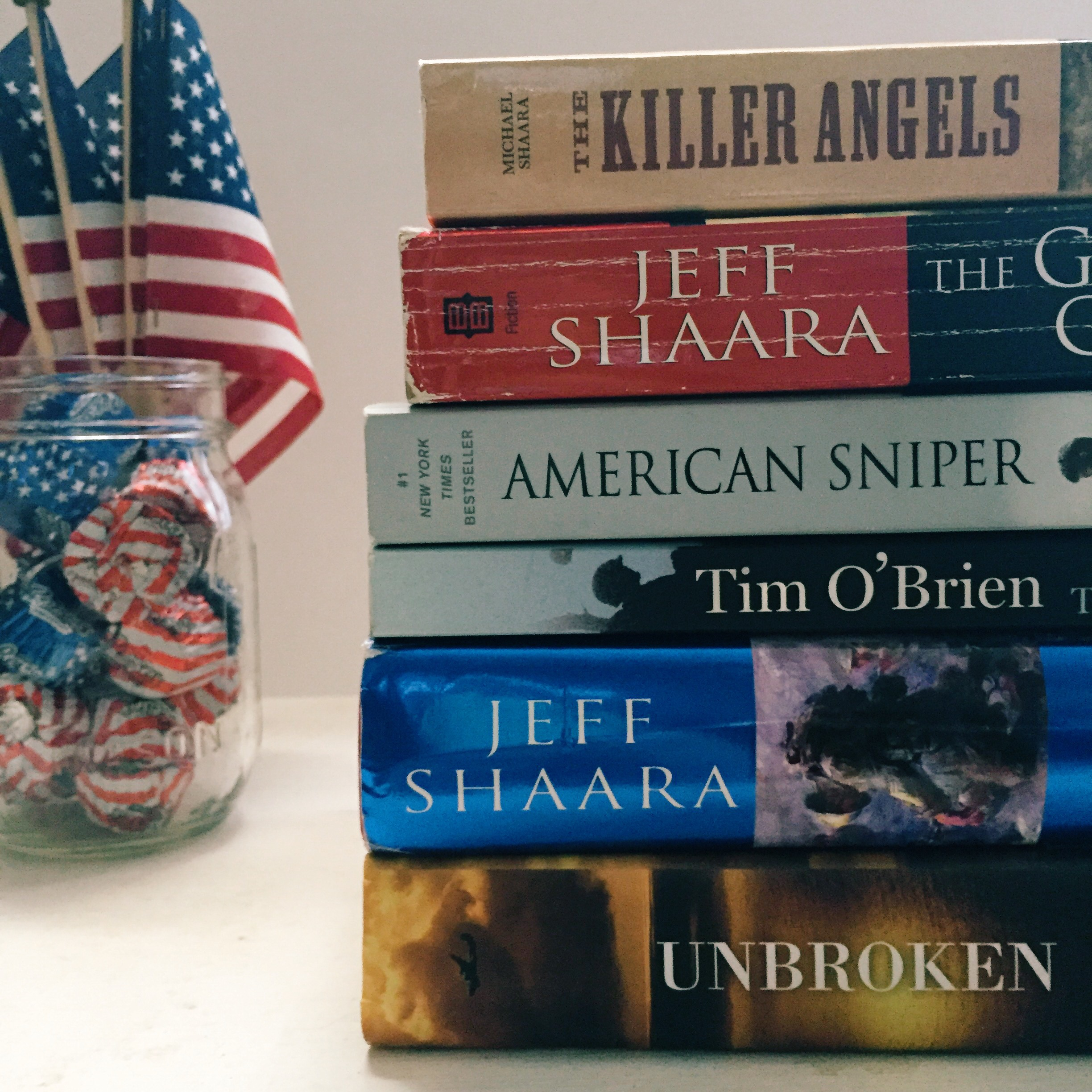 Six Books For Memorial Day