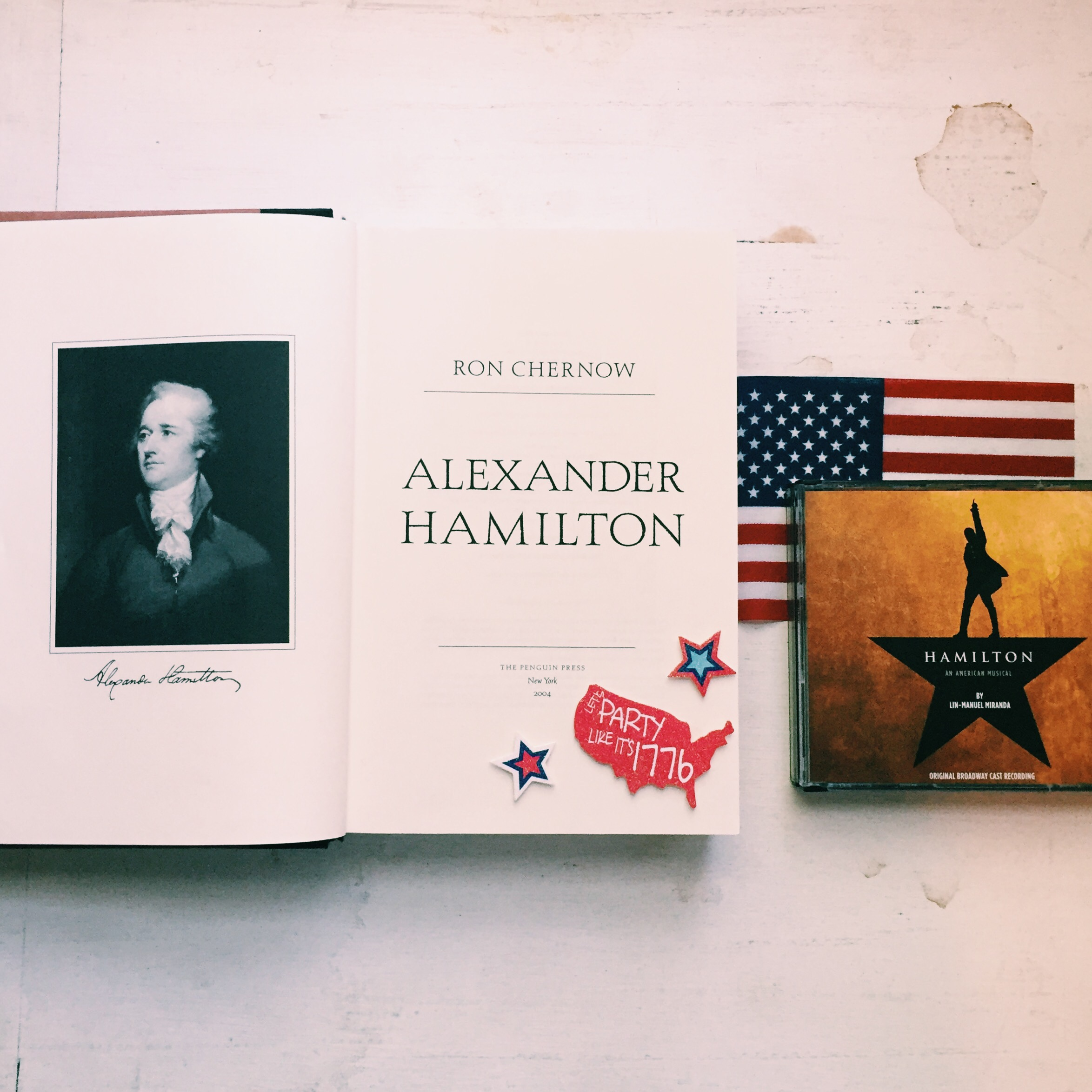 What I learned from Alexander Hamilton.