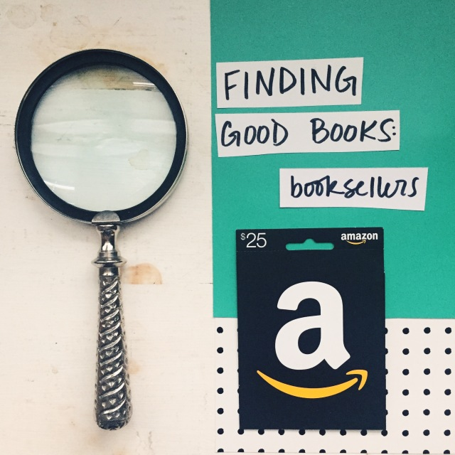 Finding Good Books: Booksellers