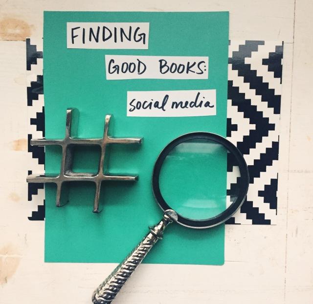 Finding Good Books: Social Media