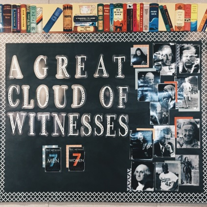 Bulletin board in my classroom