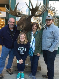 The Cook family in Jackson, Wyoming.